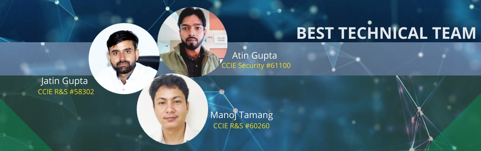 CCIE trainer in India